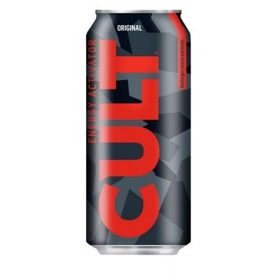Energinis gėrimas CULT ORIGINAL, 500 ml