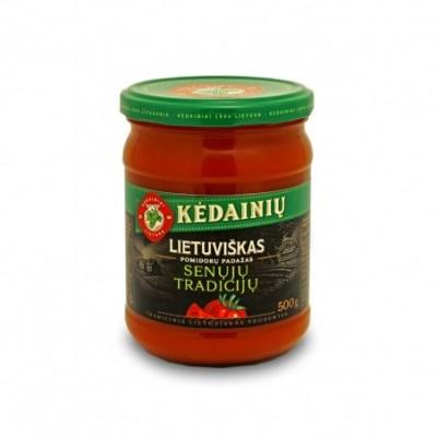 KĖDAINIŲ pomidorų padažas Lietuviškas Senųjų Tradicijų, 500g