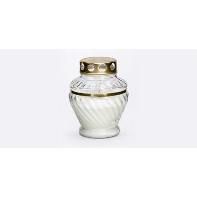 Žvakė kapų KŪGIS  (iki 76 val), 14 cm, 1 vnt.