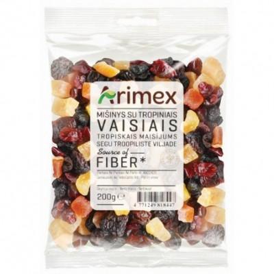 Mišinys su tropiniais vaisiais ARIMEX, 200 g