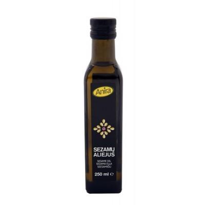 Šaltai spaustas sezamų aliejus ANIRA, 250 ml