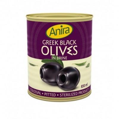 Juodosios graik. alyvuogės be kaul. COLOSSAL ANIRA, 850 ml