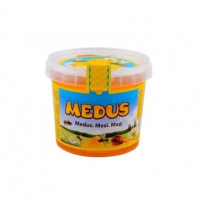 Natūralus medus, 450 g (plast. ind.)