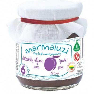Džiovintų slyvų tyrelė MARMALUZI (nuo 6 mėn), 125 g