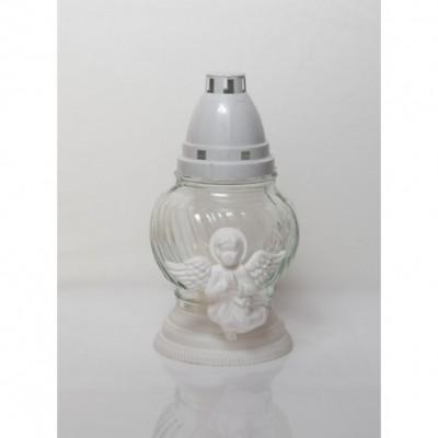 Žvakė ANGELIUKAS, baltas, degimo laikas iki, 20,5 cm., 1 vnt
