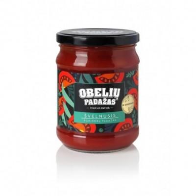 Pomidorų padažas OBELIŲ Švelnusis be konservantų, 500 g