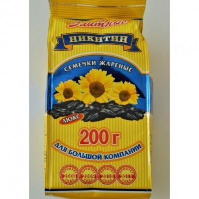 Skrudintos saulėgrąžų sėklos NIKITIN ELITINĖS, 200 g