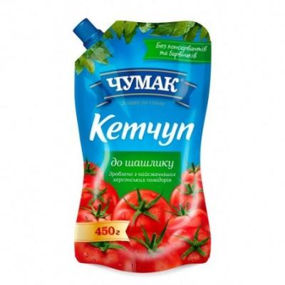 Kečupas ČUMAK, šašlykams, 450 g