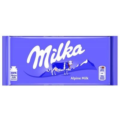 Šokoladas Milka Alpine milk 100 g