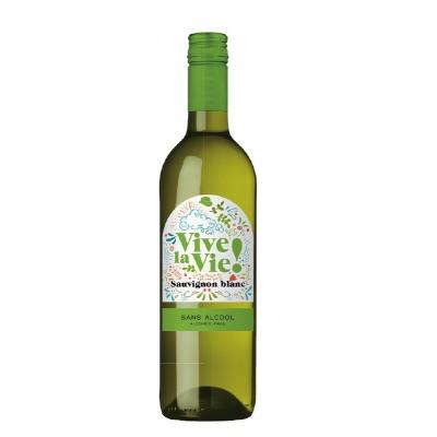 Nealkohol.vynas VIVE LA VIE Sauvig. Blanc,balt.,saus.,750 ml