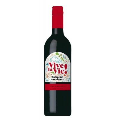 Nealkohol.vynas VIVE LA VIE Cab.Sauvign.,raud.,saus.,750ml