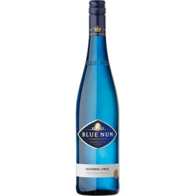 Nealkohol. vynas BLUE NUN ALCOHOL - FREE, saus.balt. 0,75L