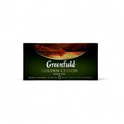 Juodoji arbata GREENFIELD Golden Ceylon 25 x 2 g