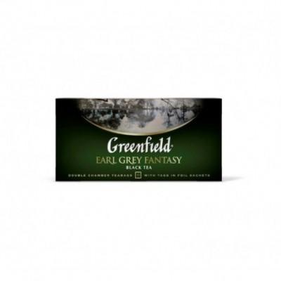 Juodoji arbata GREENFIELD Earl Grey Fantasy, 25 x 2 g