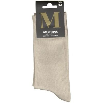 Vyriškos kojinės MICHAEL, M902, dydis 39/42, spalva smėlio