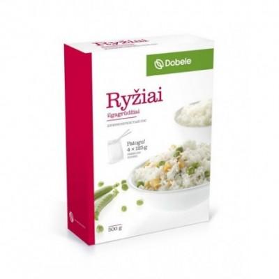 Ilgagrūdžiai ryžiai DOBELE, 4x125 g
