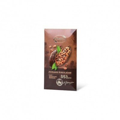 Juodasis šokoladas RŪTA, 85%, 90 g