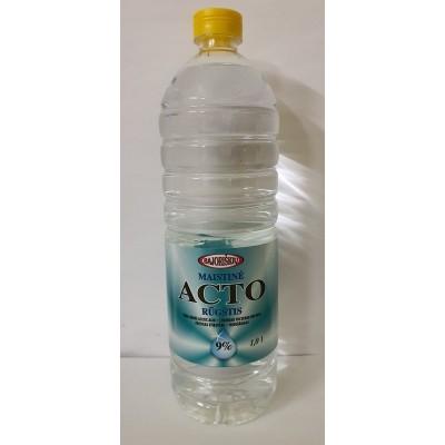 Maistinė acto rūgštis 9%,plast.1 l