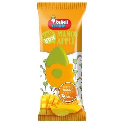 Ledai KAR-KAR mango-obuolių vaisiniai, 90ml