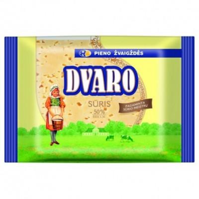 Ferm. sūris DVARO 50% r.s.m., fas. 240 g