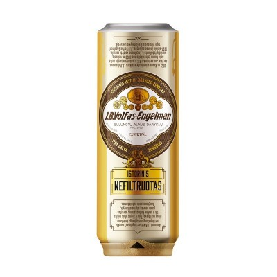 Alus Volfas Engelman Istorinis Nefiltruotas, 5,2%, 0,568 L