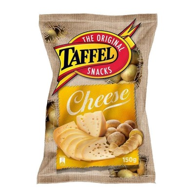 Trašk. TAFFEL CHEESE CHIPS, 150 g