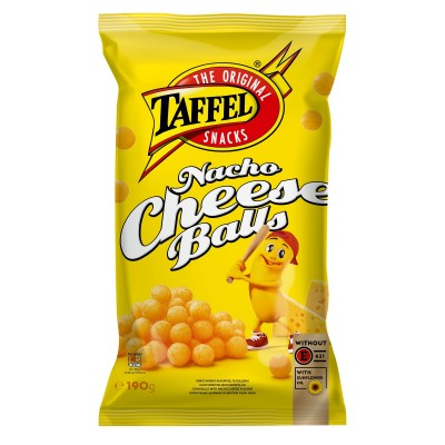 Trašk. TAFFEL NACHO CHEESE BALLS, 190 g