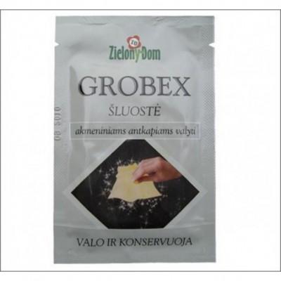 Akmeniniams antkapiams valyti šluostė GROBEX, 1 vnt.