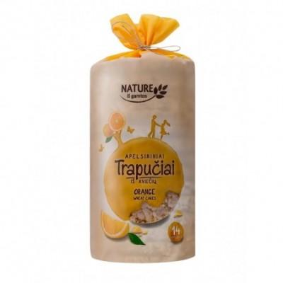Apelsininiai trapučiai NATURE, 210 g
