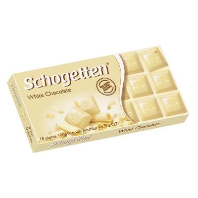 """Baltasis šokoladas """"SCHOGETTEN"""" 100 g"""