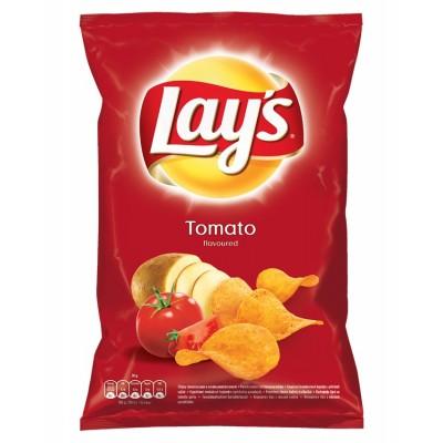 Bulvių traškučiai LAYS, pomidorų sk.,  140 g