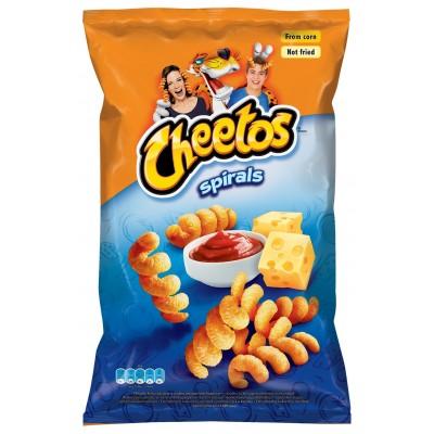Kečupo ir sūrio sk. kukurūzų užkandis CHEETOS SPIRALS, 145 g