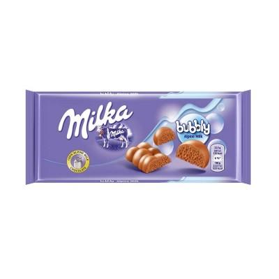 Orinis pieninis šokoladas MILKA, 90 g