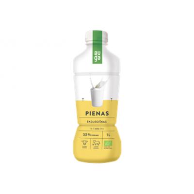 Pienas AUGA EKO 3,5% rieb., 1l