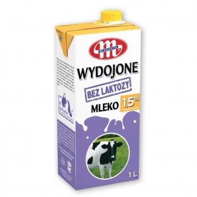 Pienas MLEKOVITA, 1,5%, UAT, 1 l