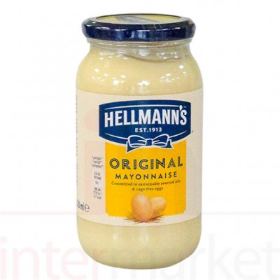 Majonezas HELLMANNS ORIGINAL, 420 ml