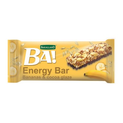 Batonėlis BA su bananais, 40 g