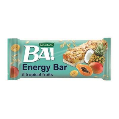Batonėlis BA! su tropiniais vaisiais, 40 g