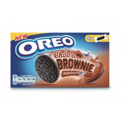 Kakav. sausainiai OREO BROWNIE su šokoladinio sk. įd., 176 g