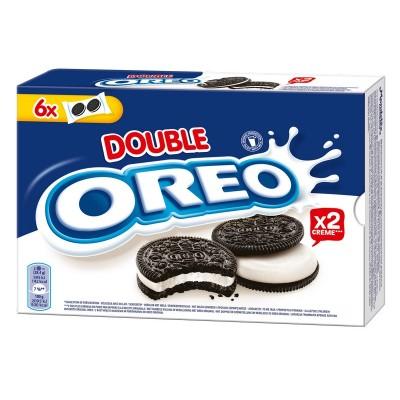 Kakav. sausainiai OREO DOUBLE STUFF su vanilės sk.įd., 170 g