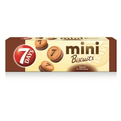 Sausainiai 7 DAYS MINI su šokolado sk. įdaru, 100 g