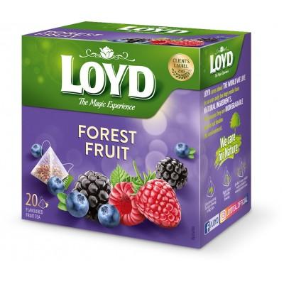 Vaisinė arbata LOYD, miško uogų sk., 20 vnt., 40 g