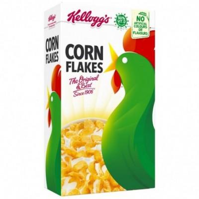 Kukurūzų dribsniai KELLOGGS CORN FLAKES, 250 g