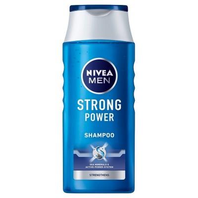 NIVEA šampūnas STRONG POWER vyrams, 250 ml