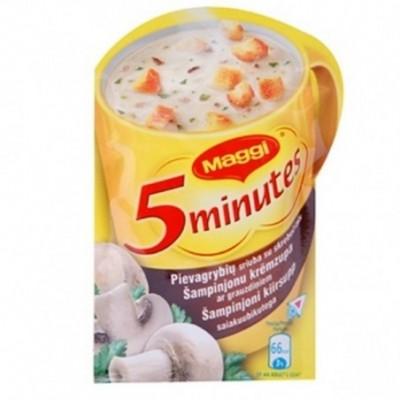 MAGGI tirpi pievagrybių sriuba su skrebučiais, 14 g