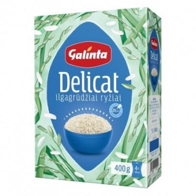Sveikuolių ryžiai GALINTA, 4x100 g