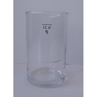 Stiklinė, 0,2 l, 1 vnt