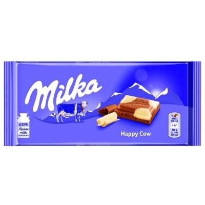 Šokoladas MILKA HAPPY COWS, 100 g