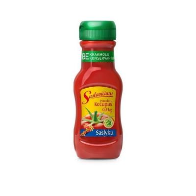 Šašlykų SUSLAVIČIAUS pomidorų kečupas, 500 g