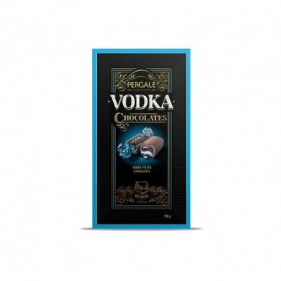 Saldainiai PERGALĖ, WITH VODKA, dėžutėje,  190 g